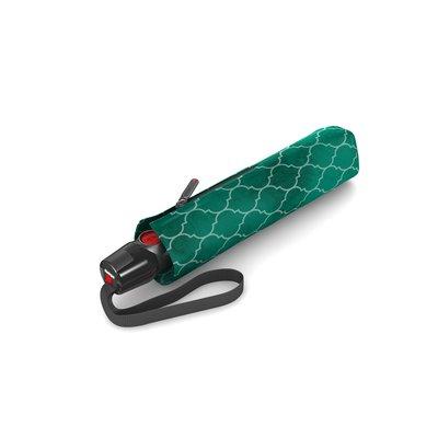 Knirps T200 groen met print medium duomatic