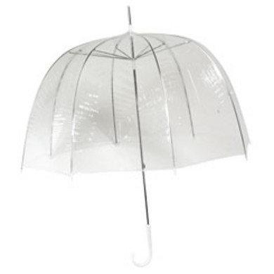 Doorzichtige paraplu (staffelprijzen)