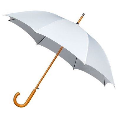 Luxe paraplu wit - windproof