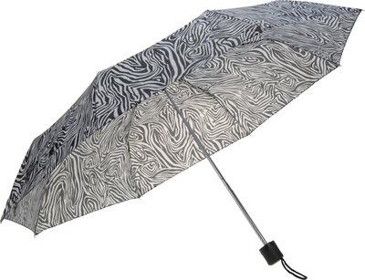 Zebraprint paraplu - opvouwbaar