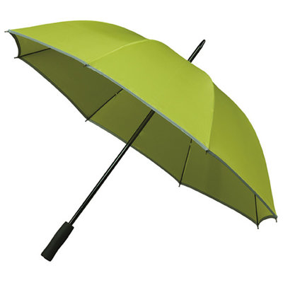Golfparaplu met reflecterende rand - Groen