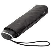 Opvouwbare platte paraplu Zwart