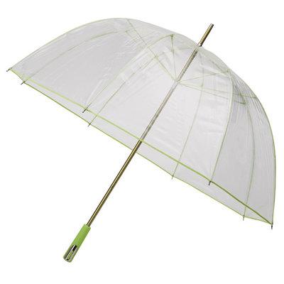 Doorzichtige golfparaplu Groen