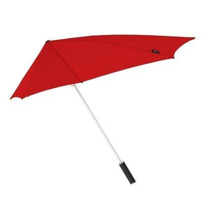 Stormaxi aerodynamische storm paraplu - Rood