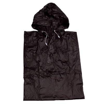 Regenponcho Zwart