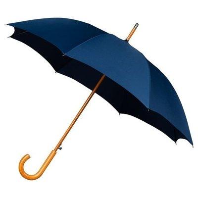 Luxe paraplu donkerblauw - windproof