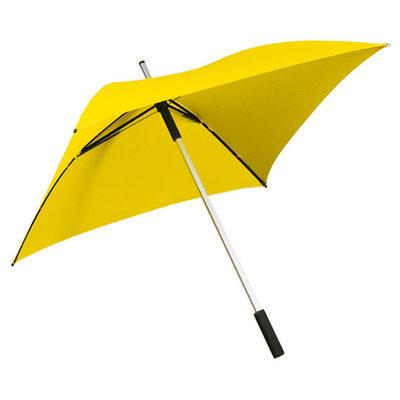 Vierkante paraplu geel - ALL SQUARE