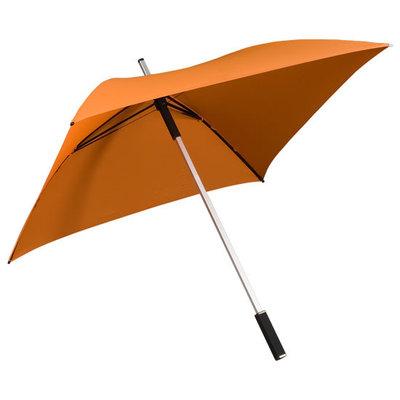 Vierkante paraplu oranje - ALL SQUARE