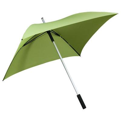 Vierkante paraplu groen - ALL SQUARE