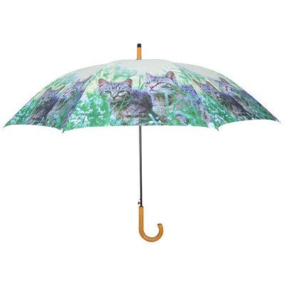Paraplu 2 Katten - Grijs