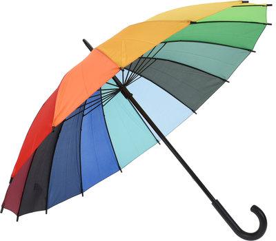 Regenboog Paraplu met haak