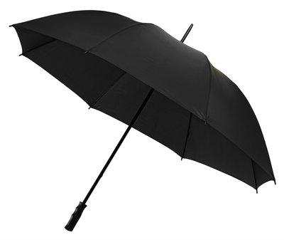 Grote zwarte golfparaplu