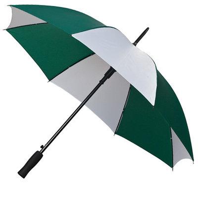 Golfparaplu Groen - Wit