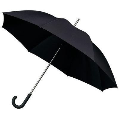 Luxe zwarte golfparaplu met haak