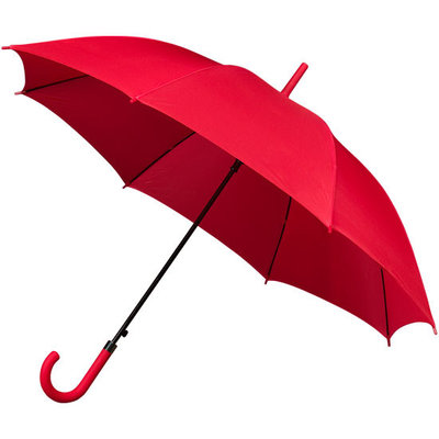 Golfparaplu met haak Rood