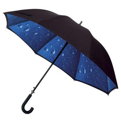 Golfparaplu met regendruppeldessin