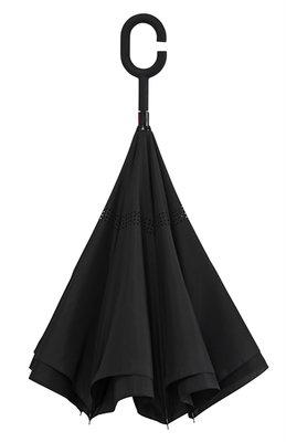 Omgekeerde paraplu zwart