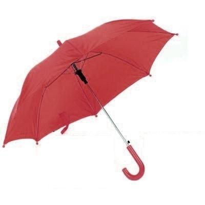 Kleurige kinderparaplu Rood