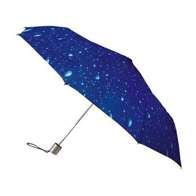 Opvouwbare paraplu met regendruppels
