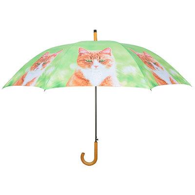 Paraplu Kat - Oranje