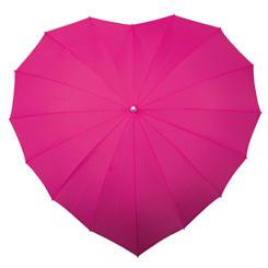 Hart paraplu fuchsia