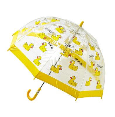 Bugzz doorzichtige kinderparaplu Eend
