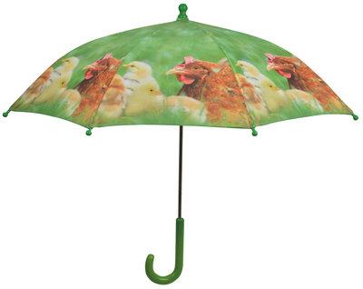 Kinderparaplu kippen