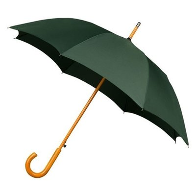 Luxe paraplu donker groen - windproof