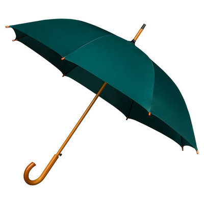 Luxe paraplu Donkergroen