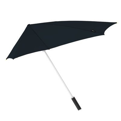 Stormaxi aerodynamische storm paraplu - Zwart
