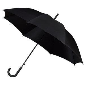 Golfparaplu met haak Zwart