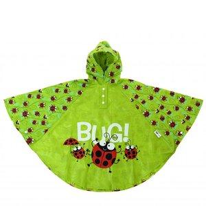 Bugzz kinder regenponcho Lieveheersbeestje