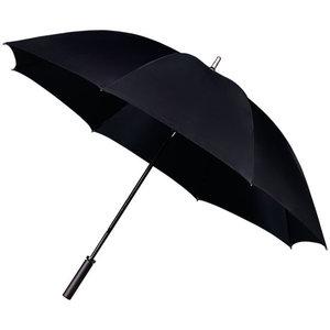 Grote golfparaplu zwart