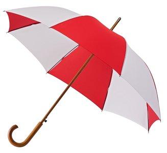 Falcone automatische paraplu - rood/wit