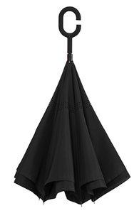 Ondersteboven paraplu zwart