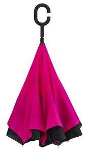 Ondersteboven paraplu Roze