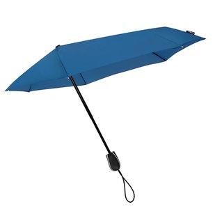 Stormini aerodynamische opvouwbare stormparaplu - blauw