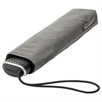 miniMAX® Opvouwbare platte paraplu Grijs