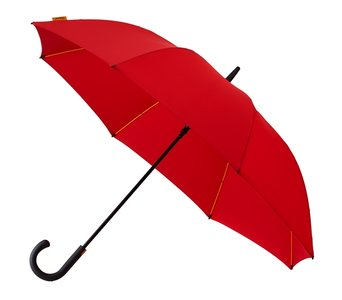 Luxe golfparaplu - Rood met haak