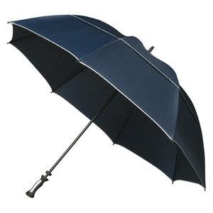 extra grote donkerblauwe stormparaplu