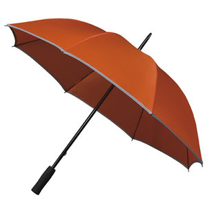 Golfparaplu met reflecterende rand - Oranje