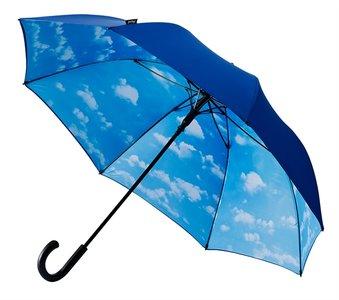 Falcone Golf-Stormparaplu met Wolken
