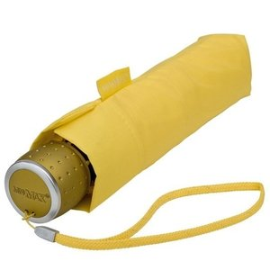 miniMAX® opvouwbare paraplu Geel