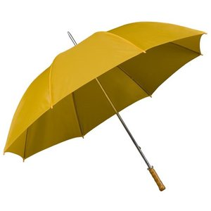 grote gele golfparaplu
