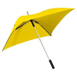gele vierkante paraplu