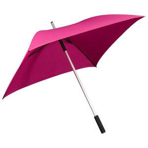 roze vierkante paraplu