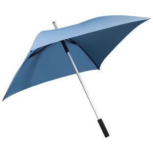 lichtblauwe vierkante paraplu