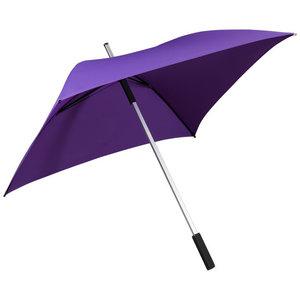 vierkante paraplu paars