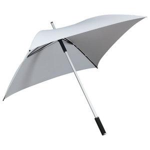 witte vierkante paraplu