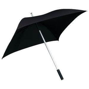 zwarte vierkante paraplu